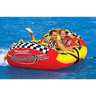 SportsStuff Half Pipe Rampage Towable Ski Tube : Waterskiing Towables : Sports & Outdoors