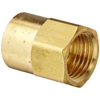 "Eaton Weatherhead 252X5 Brass CA360 Inverted Flare Brass Fitting, Adapter, 1/8"" NPT Female x 5/16"" Tube OD: Industrial & Scientific"