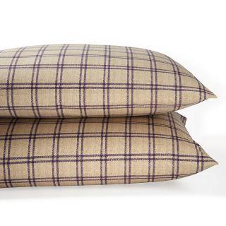 "Lauren Ralph Lauren ""Surrey Garden"" Tattersal King Pillowcase, Pair's"