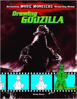 Drawing Godzilla (Drawing Movie Monsters Step By Step) Greg Roza 9781615330133 Books