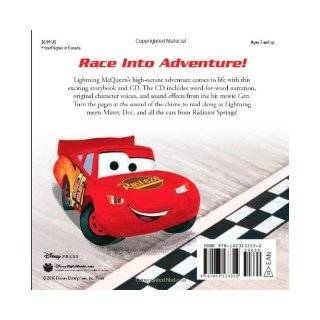 Cars Read Along Storybook and CD: Disney Book Group, Disney Storybook Art Team: 9781423133322: Books