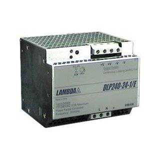TDK Lambda DLP240241/E Power Supply; AC DC; 24V@10A; 85 265V In; Enclosed; DIN Rail Mou nt; PFC; DLP Series Industrial & Scientific