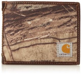 Carhartt Men's Camo Canvas Passcase Wallet, Camo/Green/Brown, One Size at  Men�s Clothing store