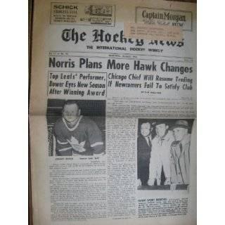 The Hockey News August 1964 Newspaper: Ken McKenzie: Books