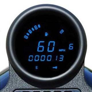 Dakota Digital Gauge Speedo 3 3/8 Blue Mcl 3204 K Automotive