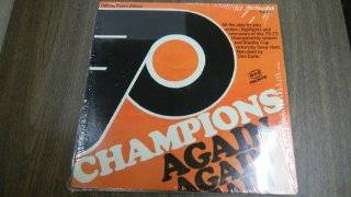 P Champions Again Official Flyers Album All the Play By Play Action Highlights and Interviews of the 74 75 Championship Season and Stanley Cup Victory By Gene Hart and Don Earle: Music