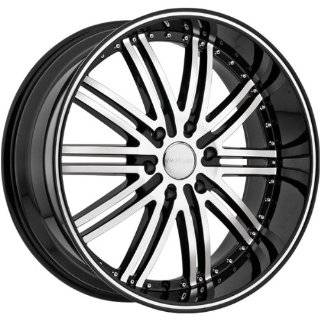 MENZARI WHEELS VIM BLACK MACHINE 5X115 +25   26X10 Automotive