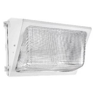 RAB Lighting WP2SN150W WP2 Glass Lens High Pressure Sodium Wallpack, ED17 Type, Aluminum, 150W NPF Power, 16000 Lumens, 120V, R NPF Ballast, White Industrial & Scientific