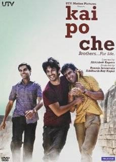 Kai Po Che Hindi DVD (Movie / Bollywood Film / Indian Cinema, Bollywood) Asif Basra, Digvijay Deshmukh, Amrita Puri, Sushant Singh Rajput, Amit Sadh Movies & TV