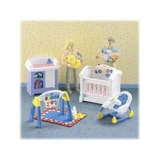 Fisher Price Loving Family Dollhouse Sparkling Symphony Nursery 2001 Toys & Games