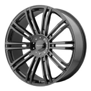 20x8.5 KMC D2 (Gloss Black) Wheels/Rims 6x135/139.7 (KM67728566335): Automotive