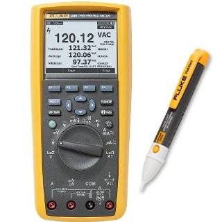 Fluke 289/2AC Depot Deal Kit, 289 TRMS Logging DMM (Lo Z) w/ FREE 2AC Non Contact Voltage Tester: Logging Equipment: Industrial & Scientific