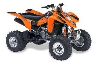 AMR Racing Kawasaki KFX450, KFX450r ATV Quad, Graphic Kit   Silver Star Silve Automotive