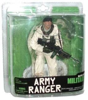 McFarlane 6 Inch Scale Soldier Action Figure Military Series 7 Toy   Army Ranger  Arctic Operations Toys & Games