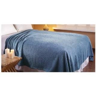 Sherpa Fleece Blanket, IVORY, FULL/QUEEN   Throw Blankets