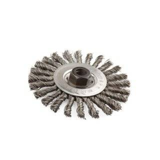 "Lincoln Electric KH306 Knotted Wire Wheel Brush, 9000 rpm, 6"" Diameter x 1/2"" Face Width, 5/8"" x 11 UNC Arbor (Pack of 1): Industrial & Scientific"