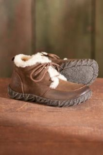 Men's Born Niko Leather Boots with Shearling Lining, TOBACCO, Size 12 Shoes