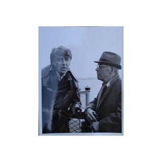 Peter Lawford & Harry Morgan 1971 Ellery Queen Original 7X9 T V Photo #DSC09114  Prints
