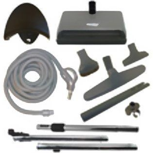 Eureka Central Vac Kit, 30ft hose, w/Pigtail   Household Vacuum Parts And Accessories