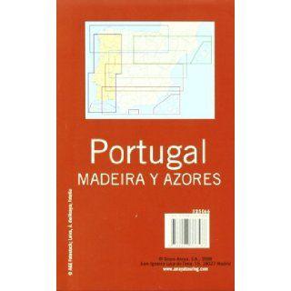 Mapa de carreteras 1340.000/ Road Maps 1340.000 Portugal (Desplegable) (Spanish Edition) Anaya Touring Club 9788497766586 Books