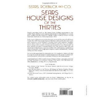 House Designs of the Thirties (Dover Architecture):  Roebuck and Co.: 9780486429946: Books