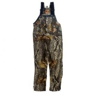 Berne Apparel Girls Insulated Quilt Lined Bib Overall: Clothing