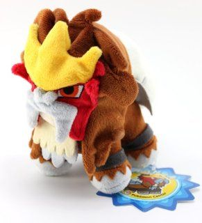 "Official Nintendo Pokemon Center Plush Toy   6"" Entei Toys & Games"