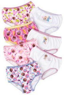 Disney 7 pk. Toddler Doc McStuffins Girls Panties: Clothing