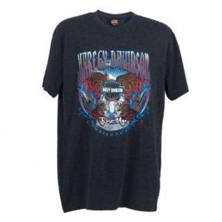 Harley Davidson Men's Lakenheath Rise Up T Shirt at  Men�s Clothing store