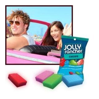 Jolly Rancher Fruit Chews (Cherry, Watermelon, Blue Raspberry & Green Apple), 6.5 Ounce Bags (Pack of 12)  Taffy Candy  Grocery & Gourmet Food