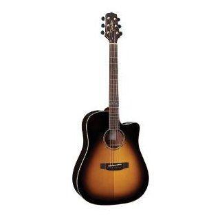Takamine G Series EG363SC VS Dreadnought Acoustic Electric Guitar, Vintage Sunburst: Musical Instruments