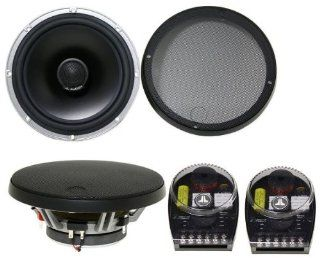 """Pair of Brand New Jl Audio C5 650 6.5"""" or 6.75 2 Way Component Speakers with Silk Dome Tweeters and Adjustable External Crossovers"""