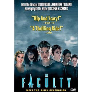 The Faculty: Jordana Brewster, Clea DuVall, Laura Harris, Josh Hartnett, Shawn Hatosy, Salma Hayek, Famke Janssen, Piper Laurie, Christopher McDonald, Bebe Neuwirth, Robert Patrick, Usher Raymond, Robert Rodriguez, Bill Scott, Bob Weinstein, Elizabeth Avel