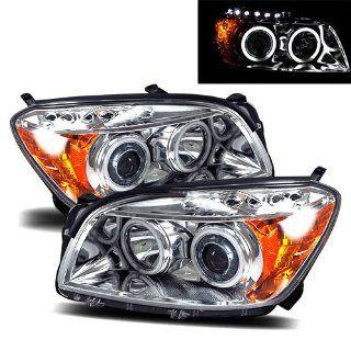 Toyota RAV 4 Chrome CCFL Projector Headlights /w Amber Automotive