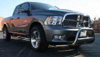 Dodge Ram 2500 Pickup 2010 11 Dodge Ram 2500 Crew Cab Bull Bar 3Inch With Stainless Skid Grille Guards & Bull Bars Stainless Products Performance Automotive
