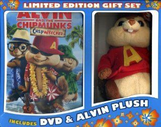 Alvin and the Chipmunks Chipwrecked DVD Gift Set with Alvin Plush: Jason Lee, David Cross, Jenny Slate, Justin Long, Mike Mitchell: Movies & TV