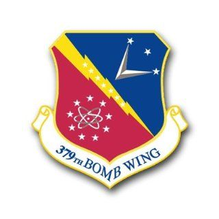 "US Air Force 379th Bomb Wing Decal Sticker 3.8"" 6 Pack: Automotive"