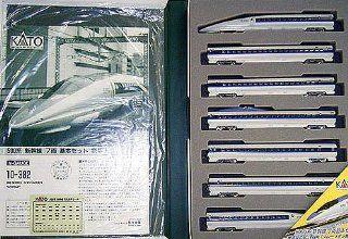 "Series 500 Shinkansen Bullet Train ""Nozomi""   7 Cars Set   Kato 10 382 Toys & Games"