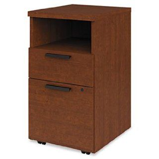 """HON Shelf/Box/File Mobile Pedestal for 10500/10700 Shells, 28"""" High, Henna Chry : Storage File Boxes : Office Products"""