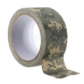 "1.96""x 393""Army Camo Fabric Tape Gun Rifle Stealth Wrap Desert Shooting Hunting Fishing 5 Color Choice"