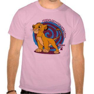 Simba Stands Proud Disney Tshirt