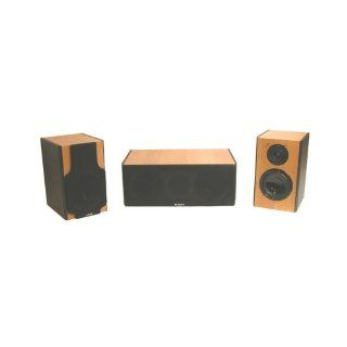 SDAT LEB 405B 2 Way Surrounding Speakers Home Theater Electronics