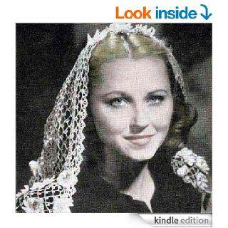 "Fascinator ""Gay Mantilla"" Crochet Flowered Head Scarf Pattern eBook unknown Kindle Store"