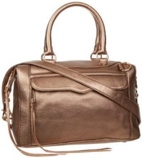 Rebecca Minkoff Mab Mini H403I001 Shoulder Bag,Bronze,One Size: Clothing