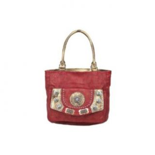 Blue Elegance Red Lion Shoulder Bag Elegant Red Handbag Shoes