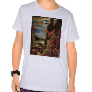 Gustave Moreau  St. Cecilia Tee Shirts