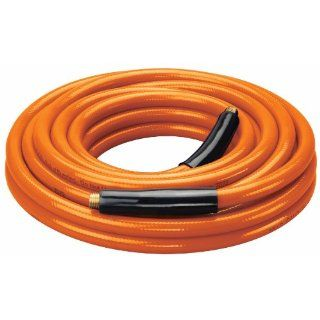"Amflo 558 25A Orange 300 PSI PVC Air Hose 3/8"" x 25' With 1/4"" MNPT End Fittings And Bend Restrictors Air Tool Hoses Industrial & Scientific"