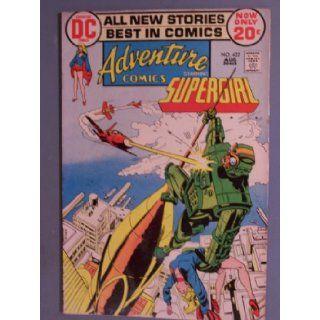 Adventure Comics, Vol 38 #422 (Comic Book), Starring Supergirl DC COMICS Books