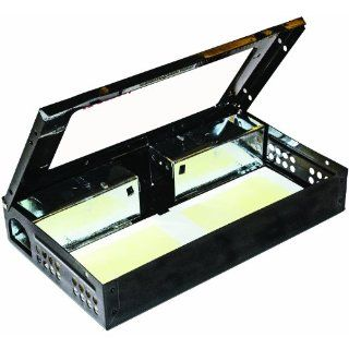 "JT Eaton 420CL BK Repeater Low Profile Multi Catch Mouse Trap with Clear Inspection Window, Black Powder Coat Finish, 10 1/4"" Length x 6 1/4"" Width x 2 7/8"" Height (Case of 12) Industrial & Scientific"