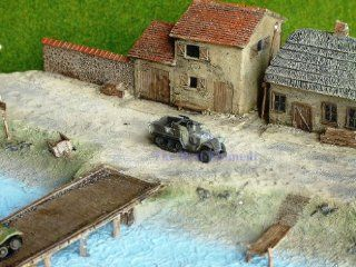 NMT_424 WWII 1:144 US M3 Half Track Armor Vehicle Wargame Model. Best for Military diorama (For Sales) (Original from The Best Moment @ ): Toys & Games